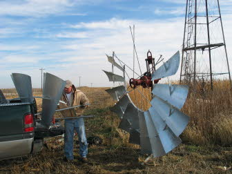 Restoring the windmill